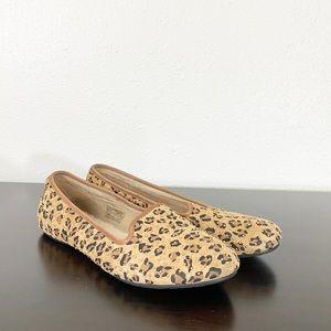 UGG Alloway Studded Leopard Loafer Size 8